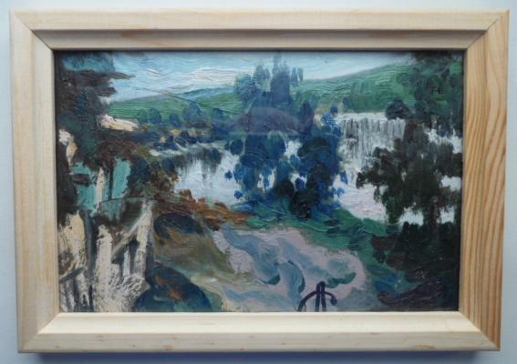 Alexander Gennadievich Sukhanov. Landscape.