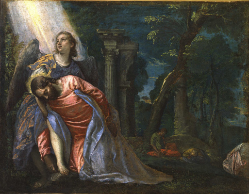 Paolo Veronese. Agony in the Garden of Gethsemane