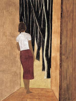 Леон Спиллиарт. The Open Door (De open deur), 1938