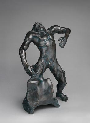 Auguste Rodin. The falling man