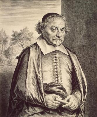 Jan Lievens. Portrait of Jos van der Amsterdam