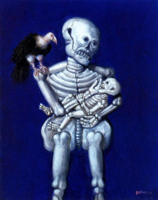 Fernando Botero. Skeleton