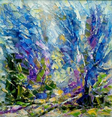Алексей Иванович Гладких. Голуые деревья