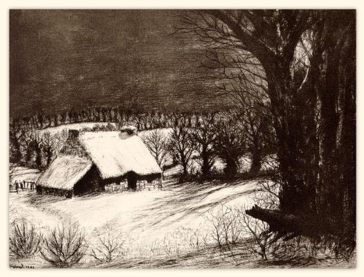 Фрелаут. Зимняя ночь