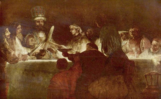 Рембрандт Ван Рейн. Заговор батавов