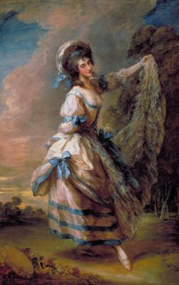 Thomas Gainsborough. Giovanna Bacelli