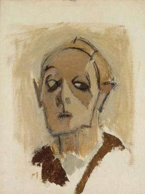 Helena Sophia Scherfbek. Face. Self portrait