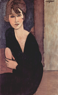 Amedeo Modigliani. Portrait of Madame Renoir