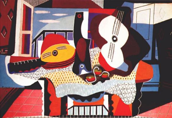 Мандолина и гитара