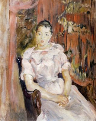 Berthe Morisot. Resting girl