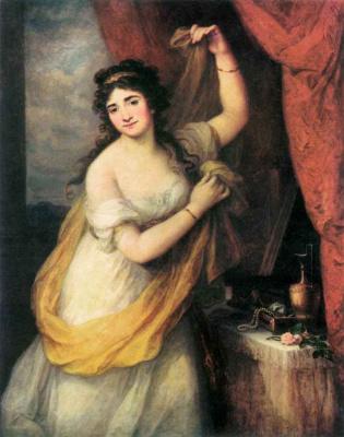 Ангелика Кауфман. Женский портрет