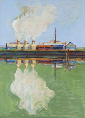 Wayne Thibaut. The reflection of the smoke