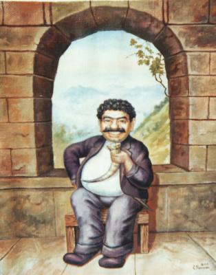 Stepan Vladimirovich Kashirin. Toast