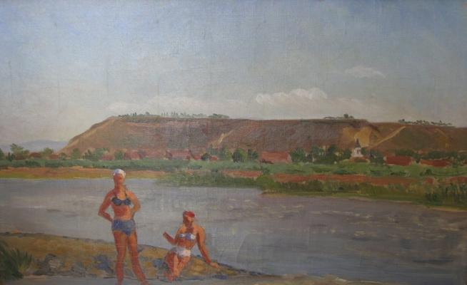 Maria Markovna Dzhagupova. Bathers