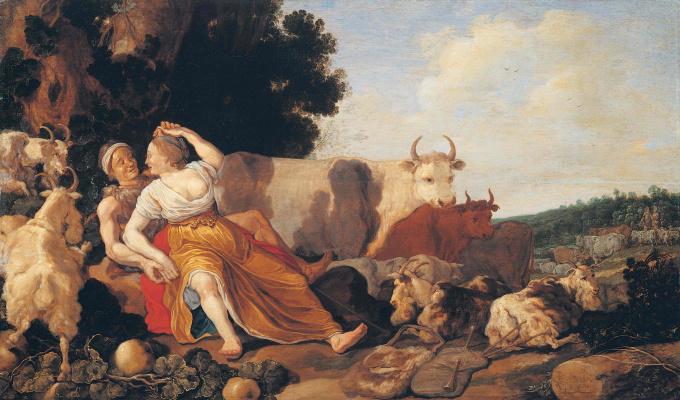 Питер де Молин. Пастушеская сцена