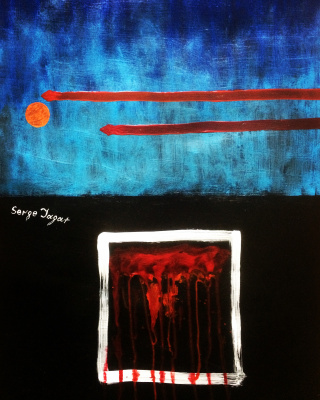 Serge Jagat. Rain in the sad eyes