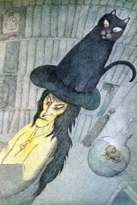 Питер Сис. Черная кошка