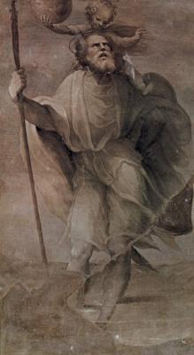 Доменико Беккафуми. Св. Христофор