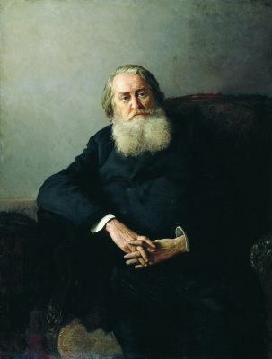 Nikolay Aleksandrovich Yaroshenko. Portrait of M. A. Pleshcheyev. 1887