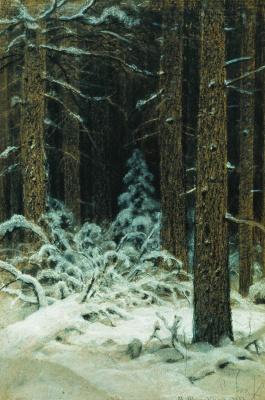 Иван Иванович Шишкин. Зимой