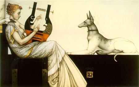 Michael Parkes. Anubis