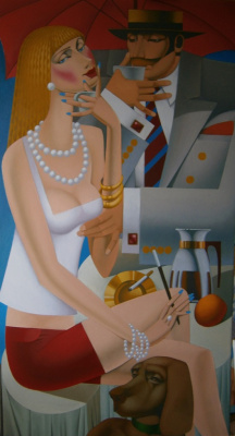 Leonid Pronchenko. OVER A CUP OF COFFEE