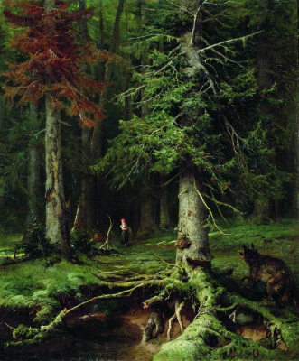 Julius Klever. Little red riding hood