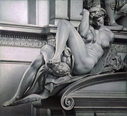 """Sergei Hinz. """"Night"""" Michelangelo"""