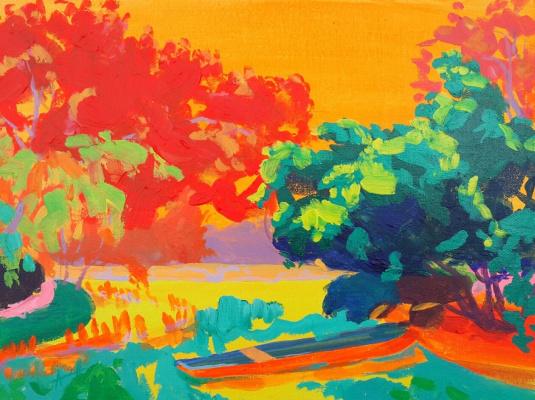 Nikolay Nikolayevich Aksenov. Landscape