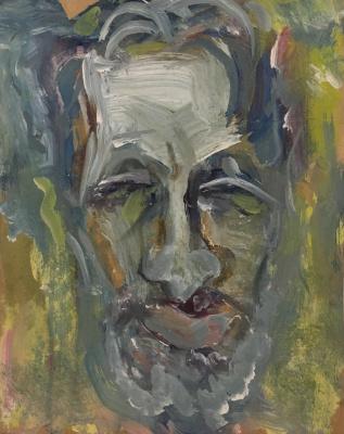 Nikolay Karpetsky. Self-portrait