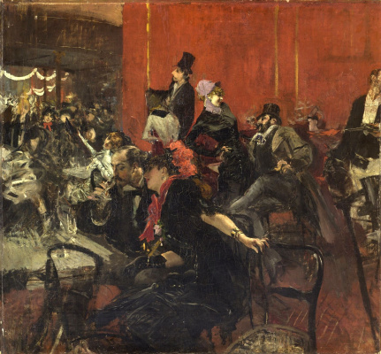 Giovanni Boldini. Festive evening