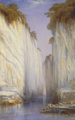 Эдвард Лир. Marble Rocks
