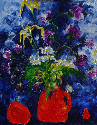 Alexander Ocher Kandinsky-DAE. Wildflowers