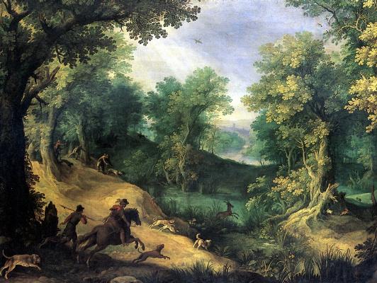 Охота на оленя