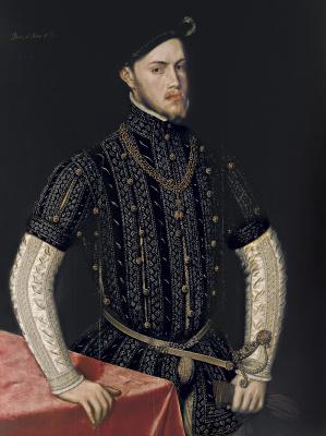 Антонис ван Дасхорст Мор. Портрет Филиппа II