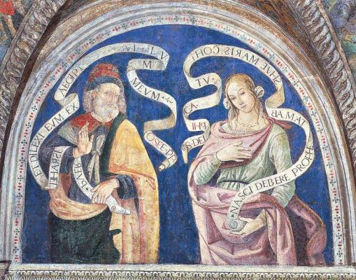 Pinturicchio. The prophet