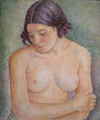 Maria Bronislavovna Marevna (Vorobyeva-Stebelskaya). Nude