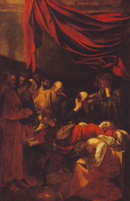 Michelangelo Merisi de Caravaggio. The Dormition Of The Theotokos