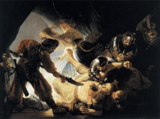 Rembrandt Harmenszoon van Rijn. The Blinding Of Samson