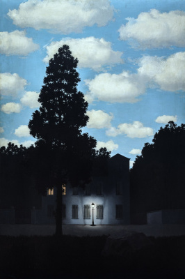 René Magritte. Empire of light