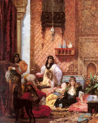 Жорж Жюль Виктор Клаирин. Любимицы султана