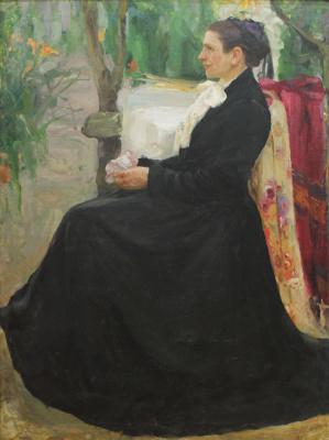 Fedor Grigorievich Krichevsky. Portrait of the artist's mother