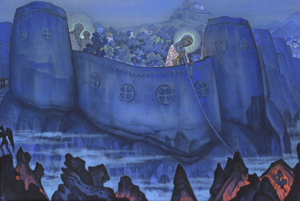 Nicholas Roerich. Madonna Laboris (Proceedings Of The Mother Of God)