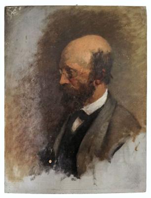 Nikolay Ivanovich Yurasov. Self-portrait
