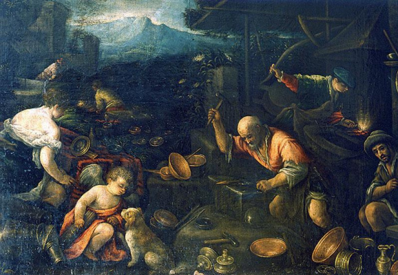 Jacopo da Ponte Bassano. Francesco da Ponte Il Giovane