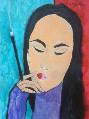 Serge Jagat. Portrait of Alina