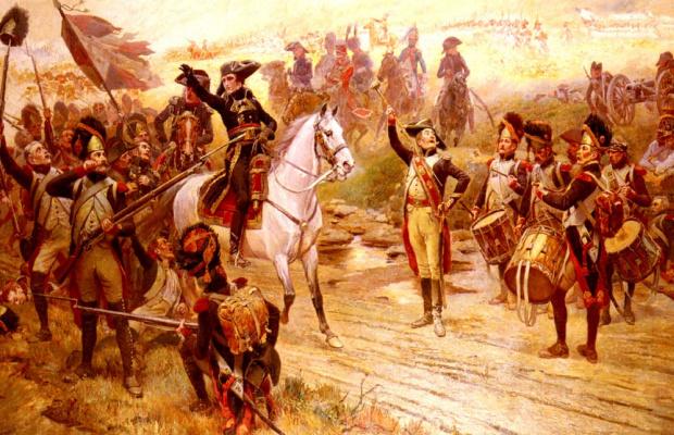 Альфонс Лалауз. Наполеон и его армия