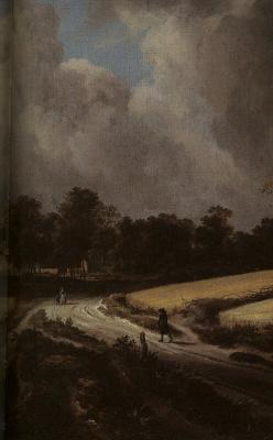 Якоб Исаакс ван Рейсдал. Пшеничные поля (фрагмент)