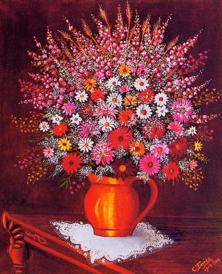 Сесиль Фавье. Букет цветов