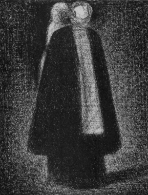 Georges Seurat. Nurse